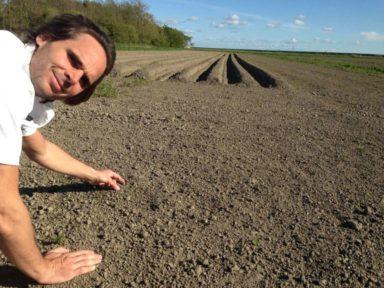 2015 Jan beim Gemüseanbau